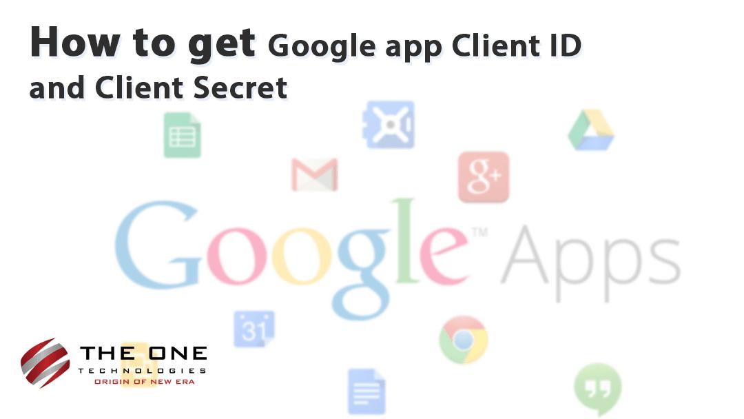 google app client id