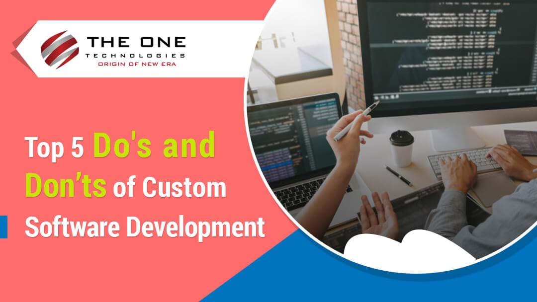 top custom software development comany